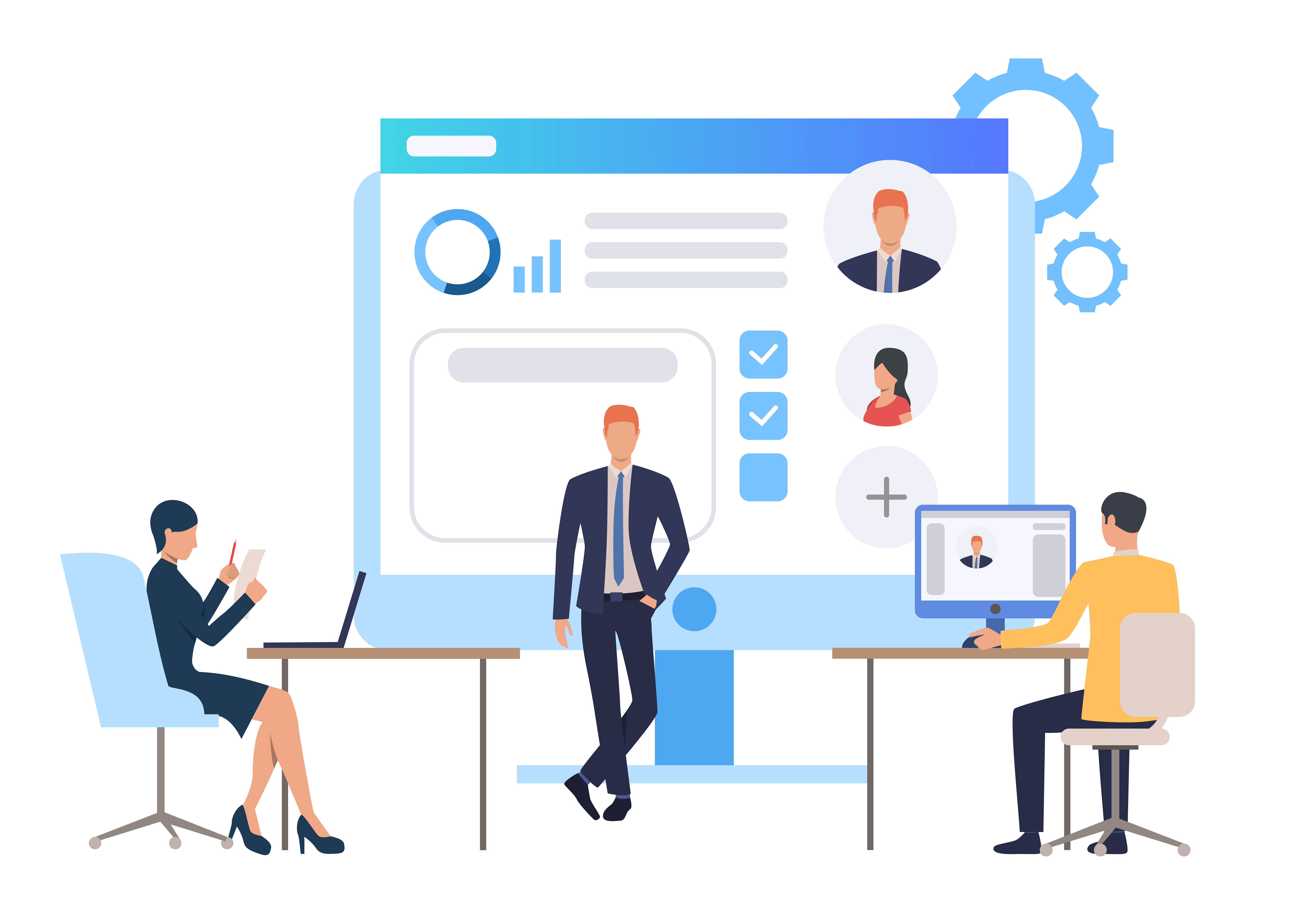 Web Base Application Service